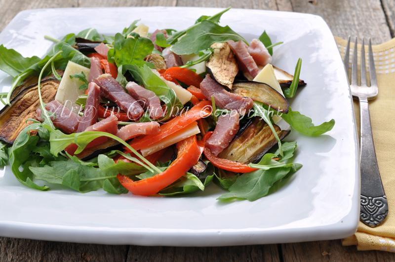 Insalata spagnola ricetta facile saporita vickyart arte in cucina
