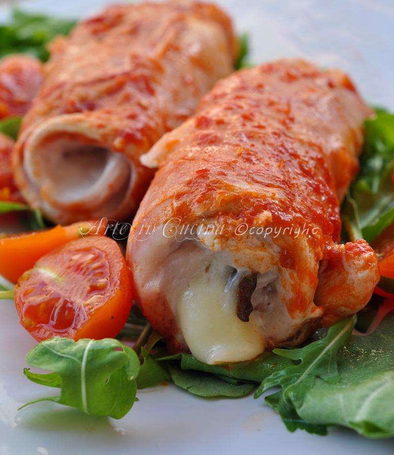 involtini di pollo e prosciutto veloci | arte in cucina - Cosa Cucinare Oggi A Pranzo