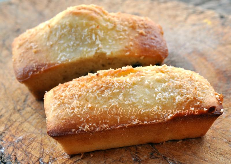 Mini plumcake al cocco vickyart