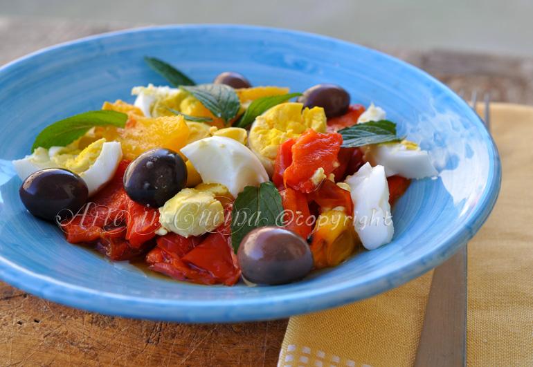 Peperoni all'insalata ricetta light vickyart
