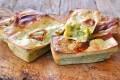 Mini plumcake salati con zucchine e speck