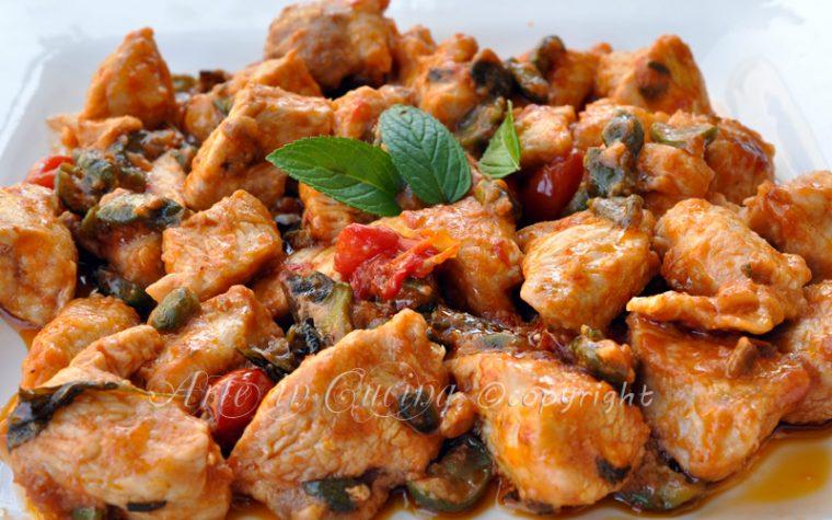 Pollo alle olive e limone ricetta veloce
