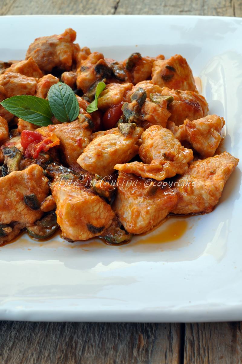 Pollo alle olive e limone ricetta veloce vickyart arte in cucina