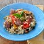 riso con verdure e pollo vickyart