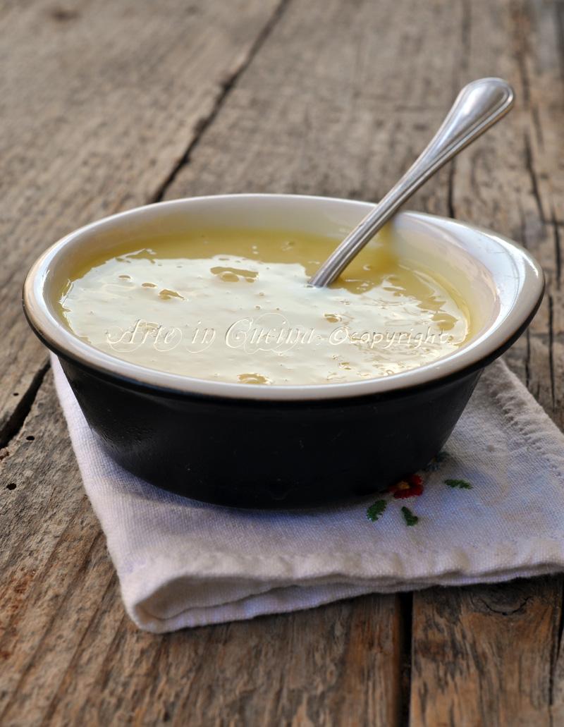 Crema al limoncello con bimby o senza vickyart arte in cucina