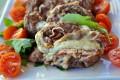 Girelle di carne macinata in padella