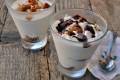 Mousse al cioccolato bianco e nutella