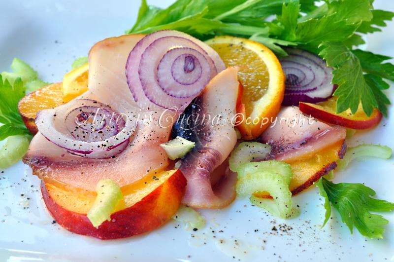 Pesce spada affumicato all arancia ricetta veloce vickyart arte in cucina