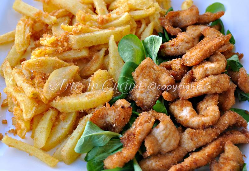 Pollo con patate croccanti in padella vickyart arte in cucina