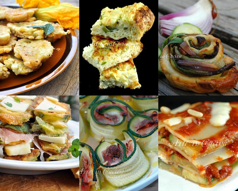 Ricette facili con zucchine arte in cucina for Ricette facili cucina