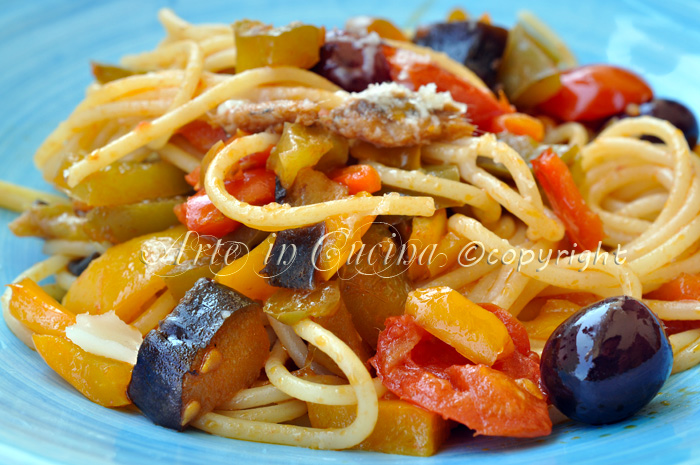 Spaghetti bella napoli ricetta facile arte in cucina for Cucina facile ricette