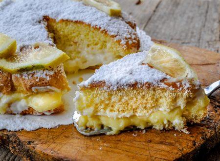 Torta al limoncello e mascarpone ricetta dolce
