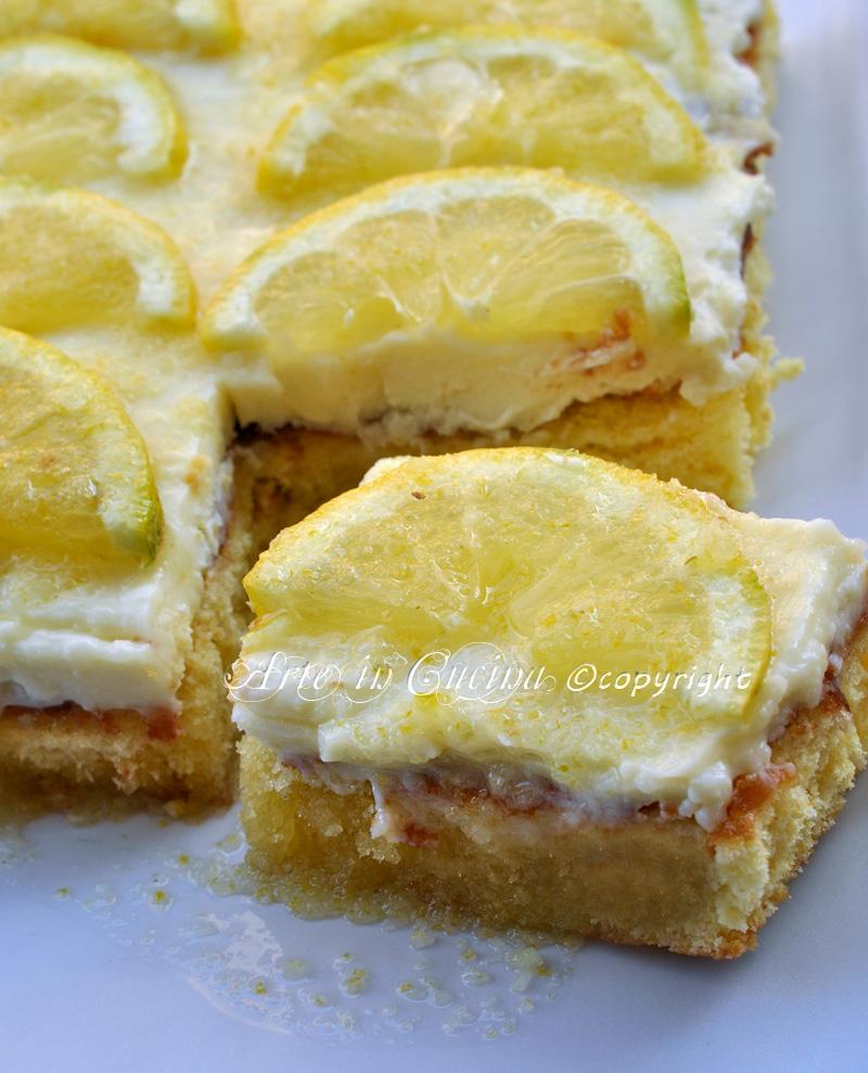 Torta veloce al limone e mascarpone vickyart arte in cucina