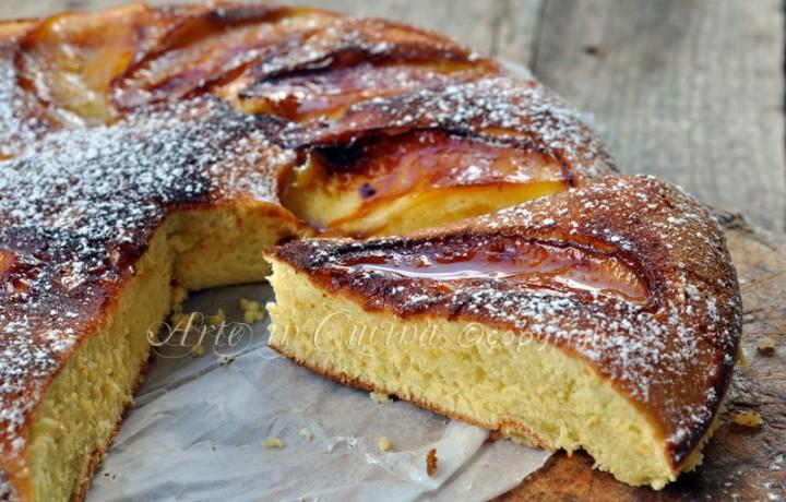 Torta alle mele in padella ricetta dolce