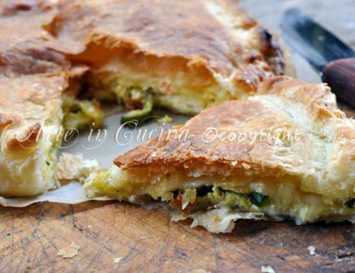 Torta salata zucchine e formaggio