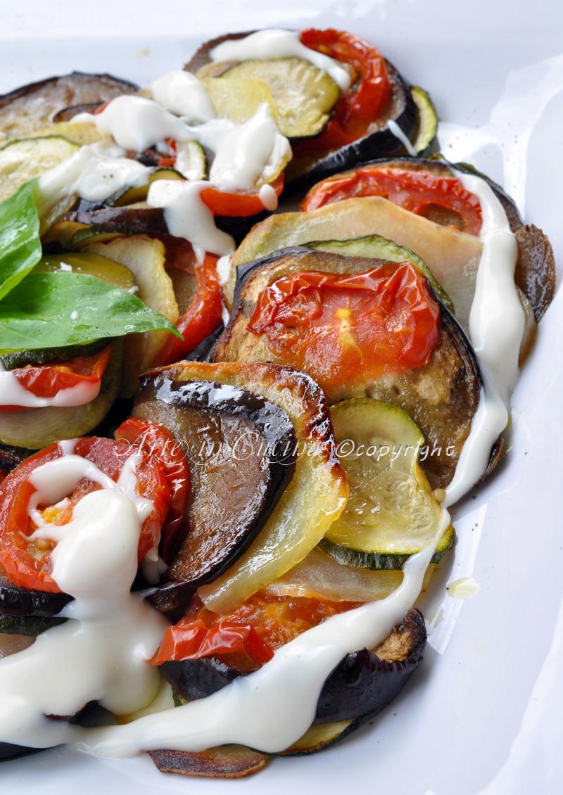 Ricetta Verdure Besciamella.Verdure Al Forno Con Besciamella