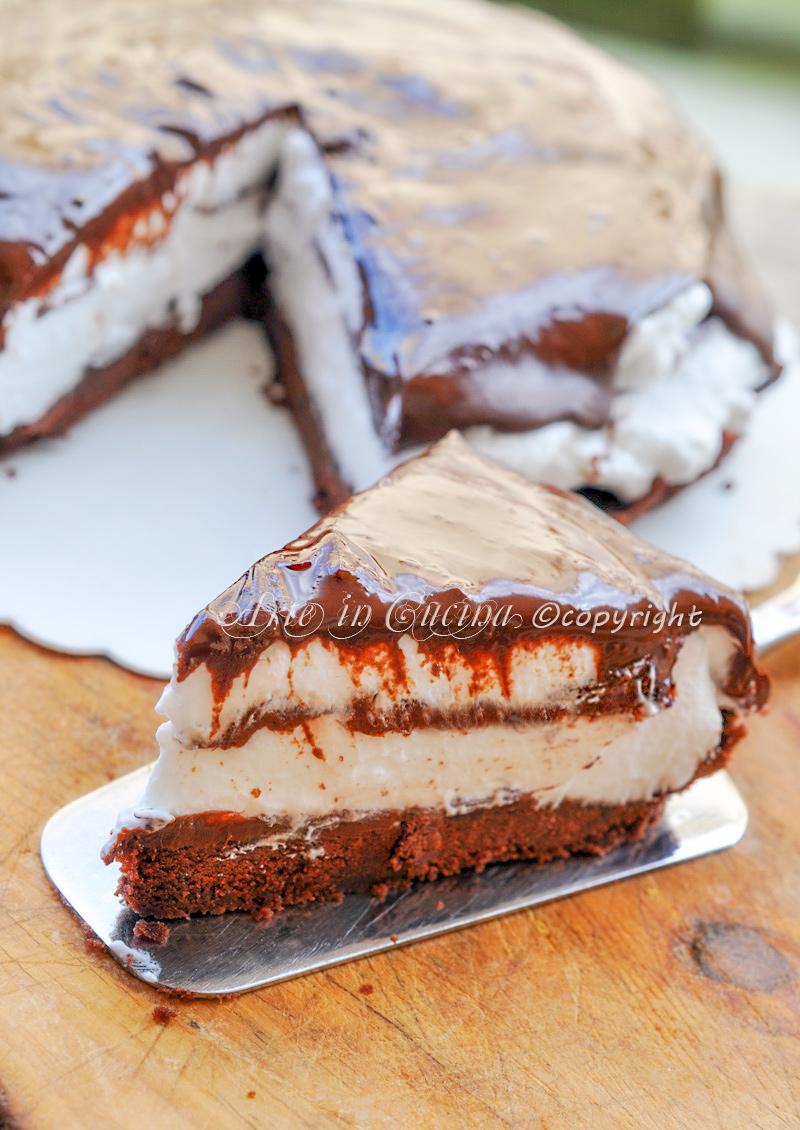 spesso Cheesecake pinguìno fredda nutella e panna   Arte in Cucina DE13