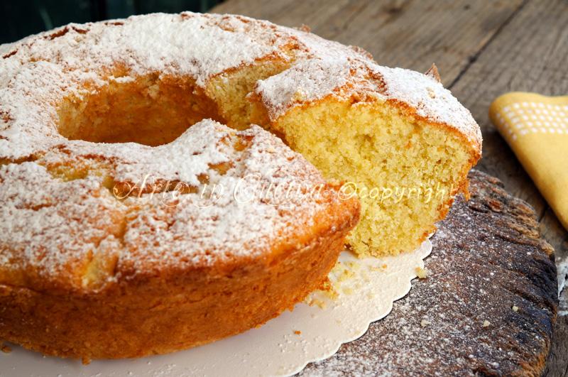 Ciambella alla panna e limone soffice e veloce arte in - Differenza panna da cucina e panna fresca ...