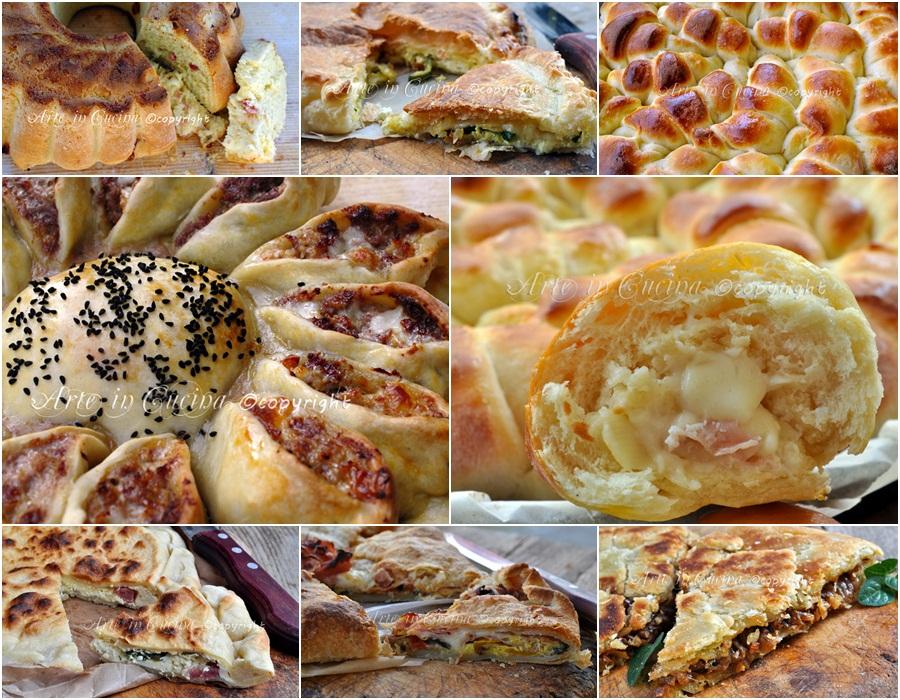Menu ferragosto antipasti torte salate pan brioche ricette - Torte salate decorate ...