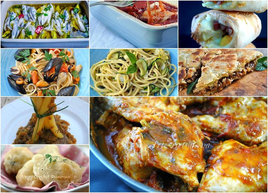 Menu napoletano per ferragosto carne e pesce ricette vickyart arte in cucina