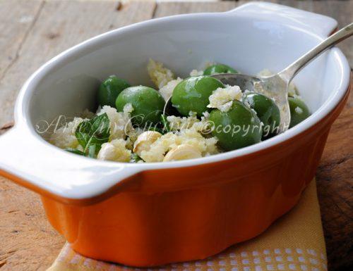 Olive con mollica ricetta siciliana antipasto