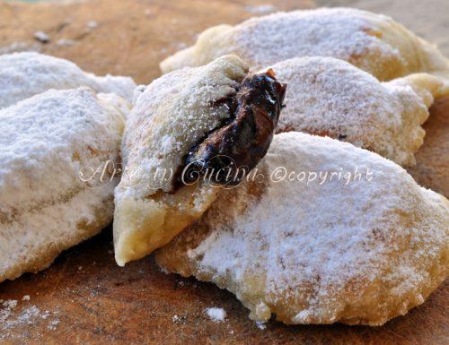 Panzerotti alla nutella ricetta dolce veloce