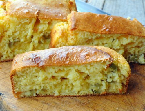 Plumcake salato alle olive ricetta veloce