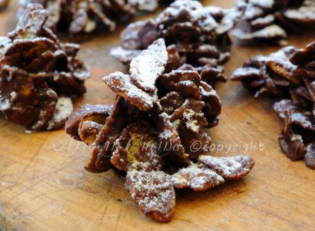 Rose del deserto alla nutella e cioccolato