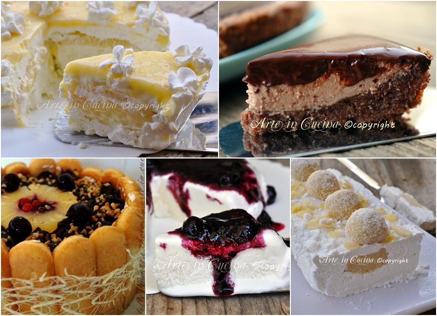 Semifreddi e torte gelato ricette dolci facili arte in for Ricette cucina semplici