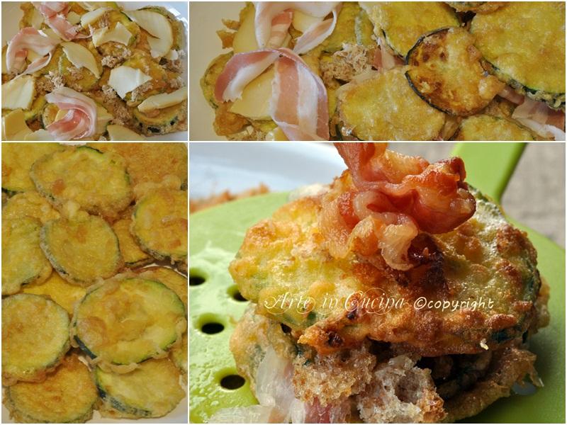 Zucchine fritte ricetta semplice saporita vickyart arte in cucina