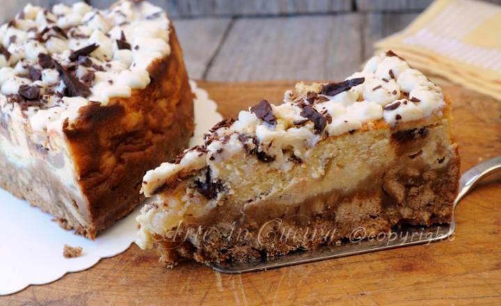 Cheesecake ricotta e pera al forno facile