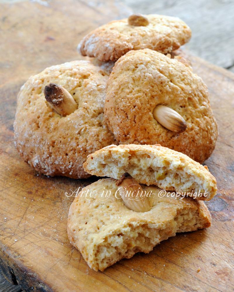 Nzuddi dolci alle mandorle ricetta siciliana arte in cucina - Cucina macrobiotica dolci ...