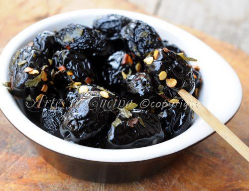 Olive nere infornate ricetta siciliana