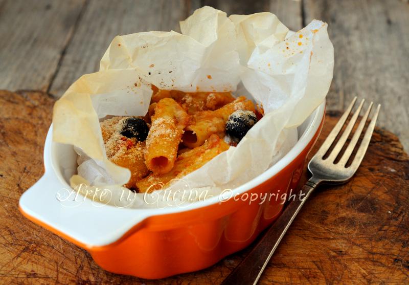 Pasta al cartoccio con melanzane ricetta facile vickyart