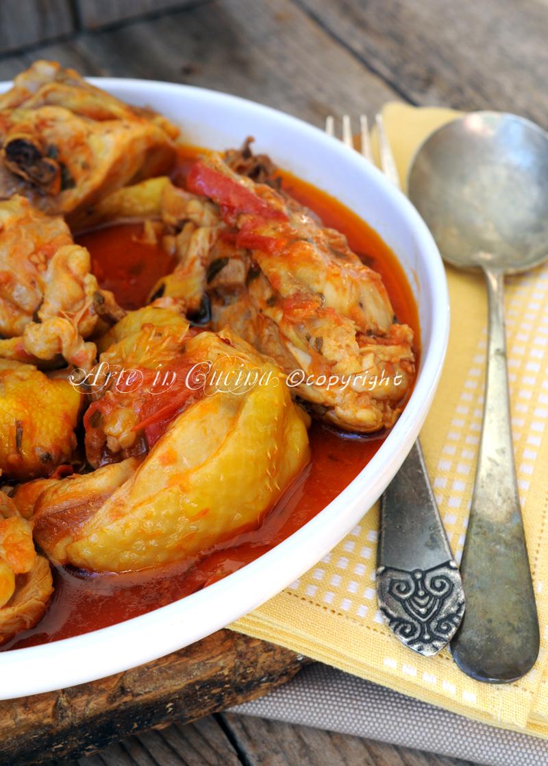 Pollo alla potentina ricetta facile vickyart arte in cucina