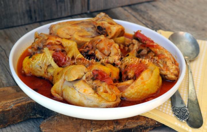 Pollo alla potentina ricetta facile
