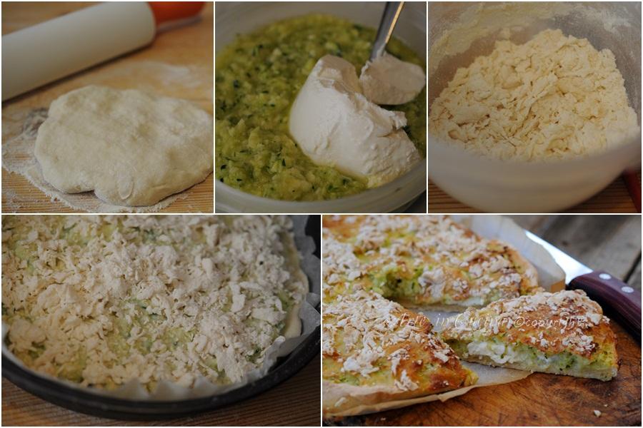 Sbriciolata salata con patate e zucchine veloce vickyart arte in cucina