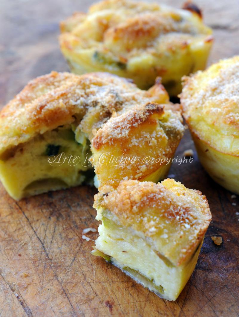 Antipasti Di Natale Monoporzione.Sformato Di Patate E Zucchine Con Olive Ricetta Facile
