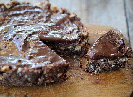 Torta di biscotti al cioccolato senza forno