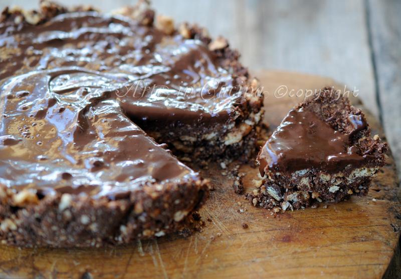 Top Torta di biscotti al cioccolato senza forno | Arte in Cucina QK02