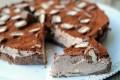 Torta fredda con nutella twix e wafer