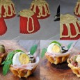 Cestini di pasta choux ripieni antipasto Natale 2014 vickyart arte in cucina
