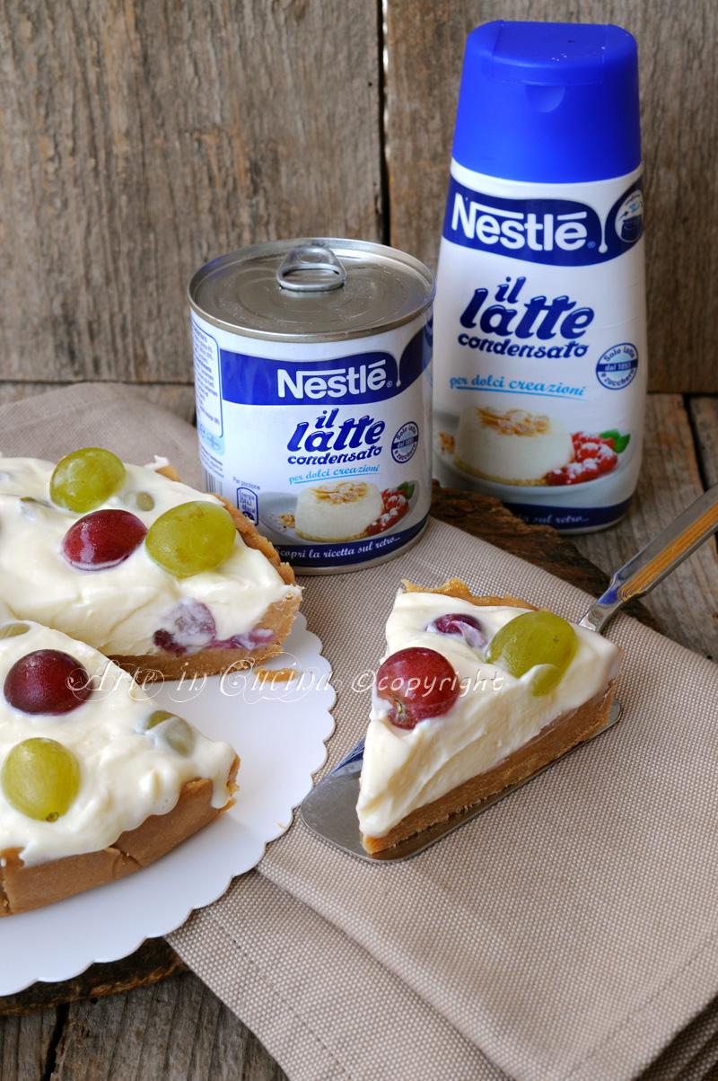 Estremamente Cheesecake fredda all'uva con latte condensato | Arte in Cucina GH99