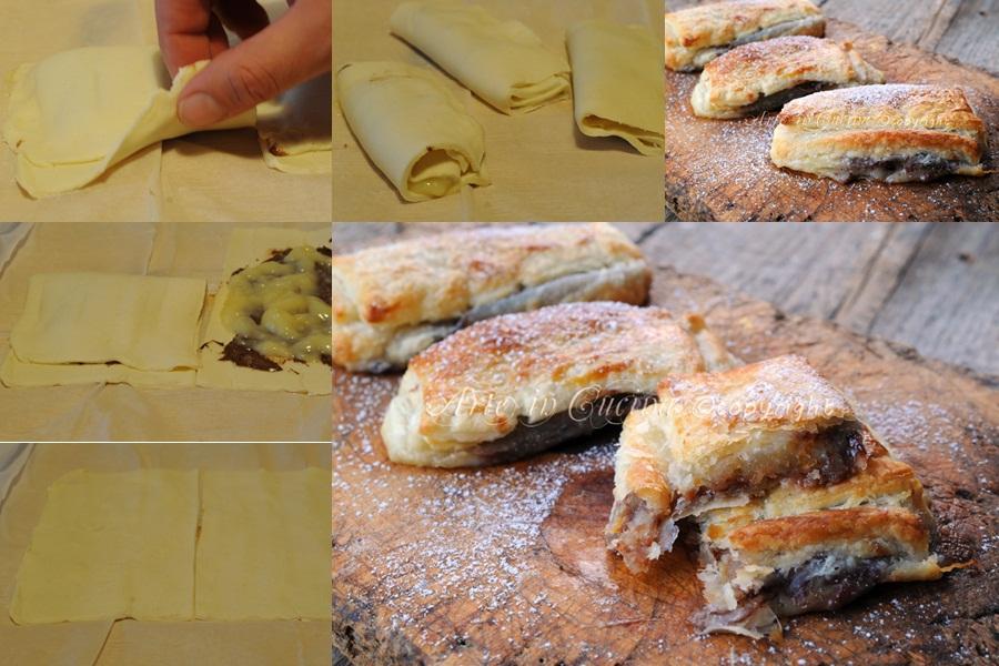 Napolitanas con crema e nutella ricetta spagnola