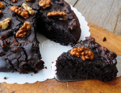 Texas cake torta al cacao veloce senza lievito golosa