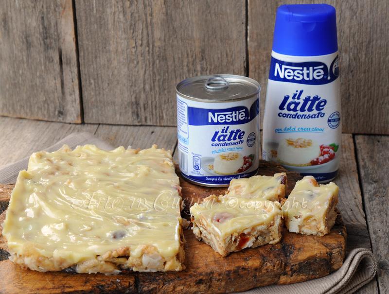 Torta veloce con frutta secca e cioccolato bianco vickyart arte in cucina