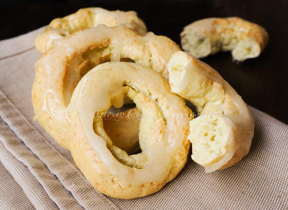 Affocagatte ciambelline veloci biscotti napoletani vickyart arte in cucina