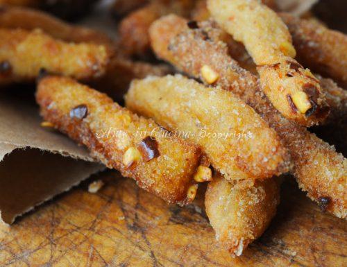 Bastoncini di patate alla paprica ricetta sfiziosa
