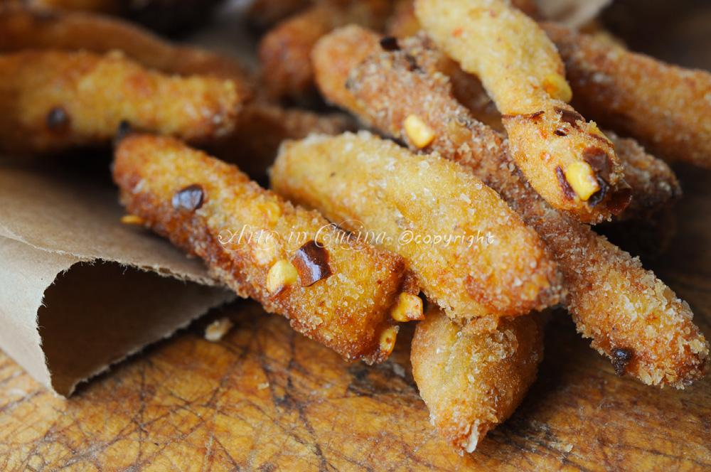 Bastoncini di patate alla paprica ricetta sfiziosa vickyart arte in cucina