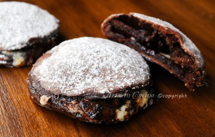 Focaccine dolci al cioccolato e mascarpone veloci